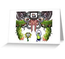 Flowey Dreemurr - Undertale Greeting Card