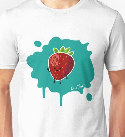 Früchtchen - Erdbeere Unisex T-Shirt