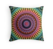 Mandala to the Max Throw Pillow