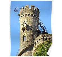 Burg Rheinstein Poster