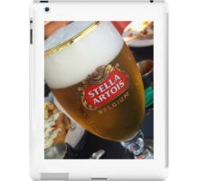 Stella Artrois Beer Glass iPad Case/Skin