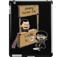Lucille Is In iPad Case/Skin