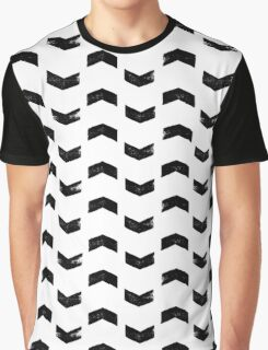 Black arrows on white Graphic T-Shirt