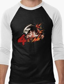 ONE PIECE Luffy Gear 4 Men's Baseball ¾ T-Shirt