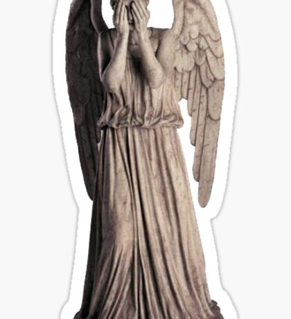 Weeping Angel Sticker
