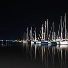 Moonlit Masts by CiaoBella