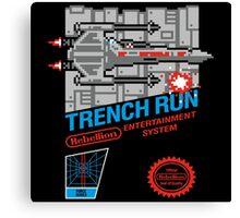 Trench Run Canvas Print