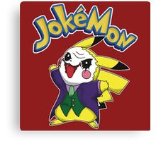 Funny Pokemon - Jokemon Canvas Print