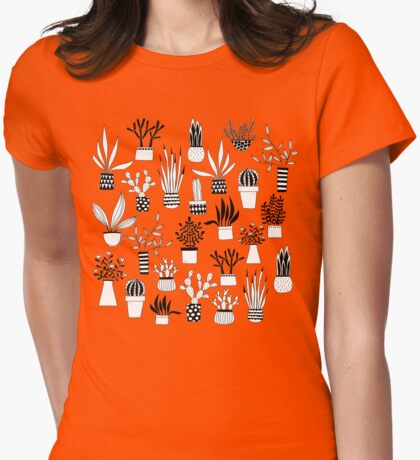 Cacti Womens Fitted T-Shirt