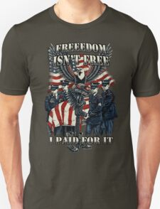 Veteran-Freedom Isn't Free T-Shirt