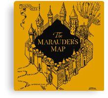 Marauder's Map Harry Canvas Print