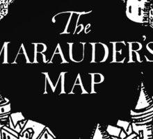 Marauder's Map Harry Sticker
