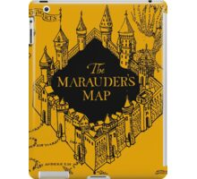 Marauder's Map Harry iPad Case/Skin