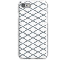 Pattern Metal Grill iPhone Case/Skin