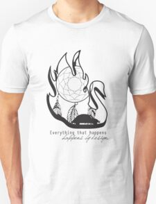 Swanfire - With Quote (Neal & Emma, Once Upon a Time) T-Shirt