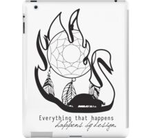 Swanfire - With Quote (Neal & Emma, Once Upon a Time) iPad Case/Skin