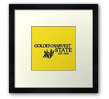Golden Harvest State 2 Framed Print