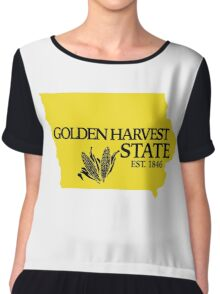 Golden Harvest State 2 Chiffon Top