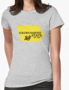 Golden Harvest State 2 Womens Fitted T-Shirt