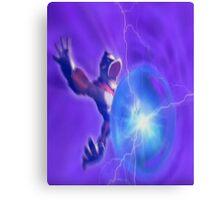 Donkey kong melee powerball Canvas Print