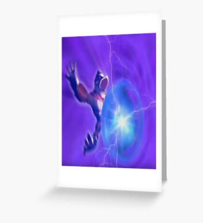 Donkey kong melee powerball Greeting Card
