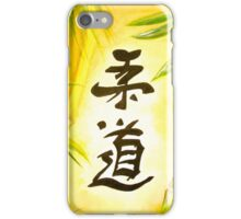 JuDo - the gentle way  iPhone Case/Skin