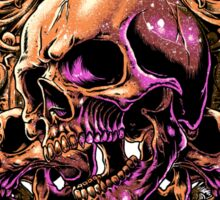 Skull Art Sticker