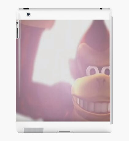 Donkey kong melee iPad Case/Skin
