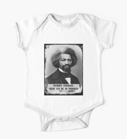 Frederick Douglass - Without Struggle There Can Be No Progress One Piece - Short Sleeve