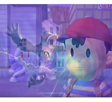 Ness, DK and ice climbers melee Photographic Print
