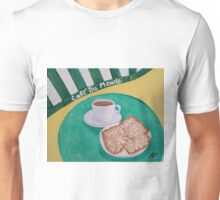 Coffee and Beignets Unisex T-Shirt