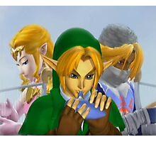 Zelda link and sheik melee Photographic Print