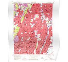 USGS TOPO Map New Jersey NJ Orange 254676 1955 24000 Poster