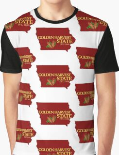 Golden Harvest State Graphic T-Shirt