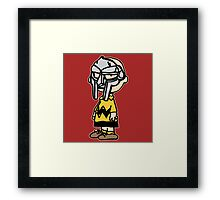 Charlie Brown Mask Framed Print