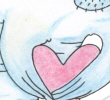 Love Manatee Sticker