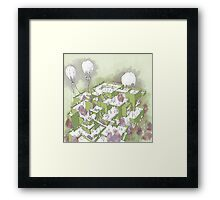 Escaping the Box Framed Print