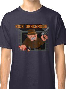 Rick Dangerous Title  Classic T-Shirt