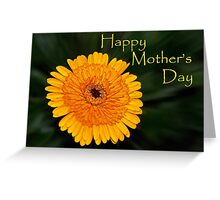Yellow Flower - Mother's Day card Greeting Card