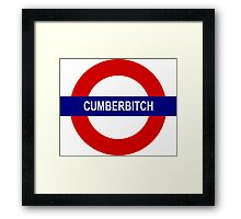 Cumberbitch Framed Print