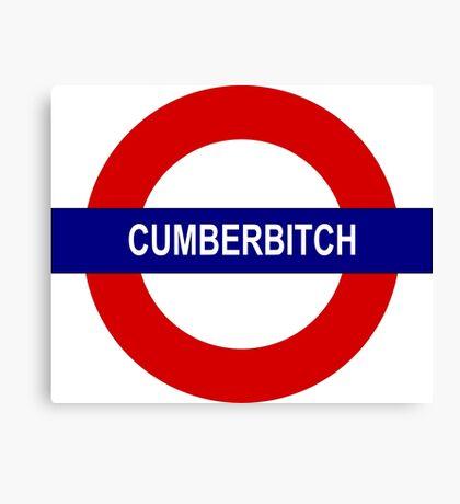 Cumberbitch Canvas Print
