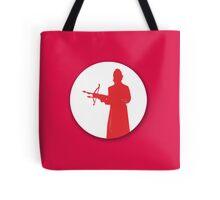 Slayer silhouette Tote Bag