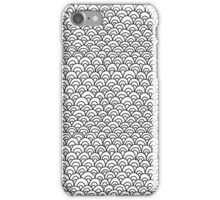 Zentangle Scales iPhone Case/Skin