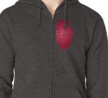 Heart Cells Zipped Hoodie