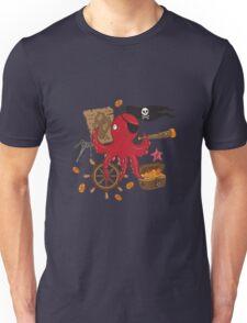 Pirat octopus Unisex T-Shirt