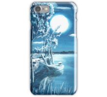 Nocturnal lagoon.. iPhone Case/Skin