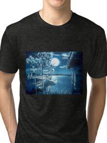 Nocturnal lagoon.. Tri-blend T-Shirt