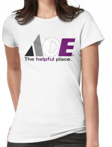 Ace: The Helpful Place Womens Fitted T-Shirt