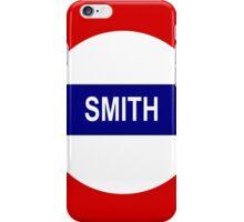Smith iPhone Case/Skin