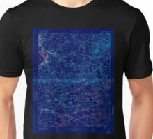 USGS TOPO Map New Jersey NJ Camp Dix 255143 1918 62500 Inverted Unisex T-Shirt
